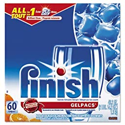 RAC81181 - Finish Gelpac Dishwasher Detergent