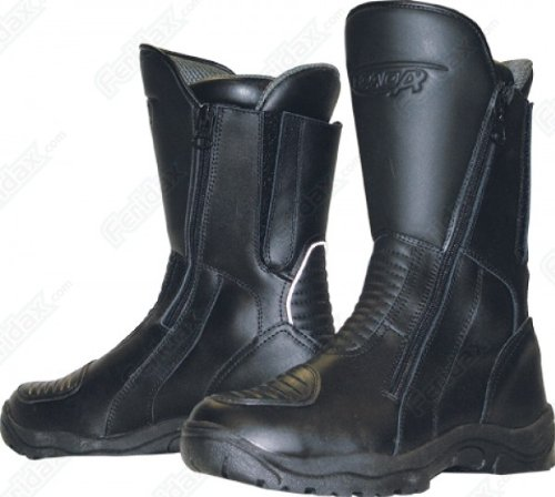 Spada HURRICANE Leather Waterproof Motorcycle Boots, UK 10 (45)