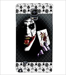 PrintDhaba Joker D-3071 Back Case Cover for SAMSUNG GALAXY NOTE 2 (Multi-Coloured)