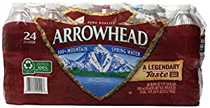 Arrowhead Spring Water (24 Count, 16.9 Fl Oz Each)