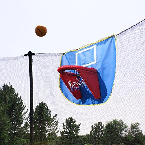 Skywalker Trampolines Basketball Hoop And Ball Trampoline
