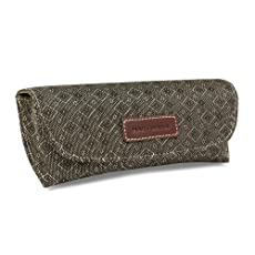 Hartmann Wings Diamond Eyeglass Case