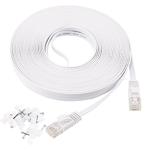 cat-6-ethernet-cable-30m-flat-white-with-20-cable-clipsjadaolr-network-cable-cat6-flat-ethernet-patc