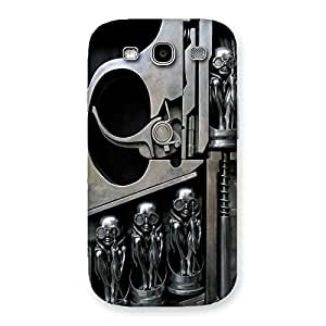 Cute Sharpshooter Three Gun Back Case Cover for Galaxy S3