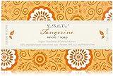 La Belle Vie Vegetable Based Tripple Milled Bar Soap -Tangerine 7oz.