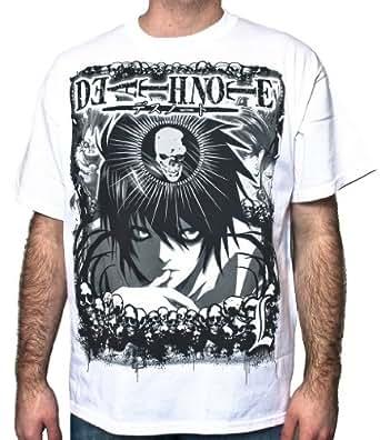 Death Note Distressed L T-Shirt (Medium)