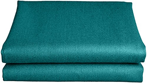 Empire USA Worsted Speedy Billiard Cloth/Felt, 7-Feet/90x66-Inch, Dark Green