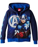 Marvel Little Boys' Captain Frontman T-Shirt