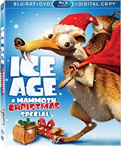 Ice Age A Mammoth Christmas Special Blu-ray from 20th Century Fox