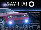 2012 Dodge Challenger Blue Halo Fog Lights Kit