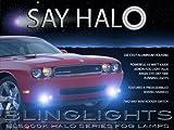 2012 Dodge Challenger Blue Halo Fog Lights Kit
