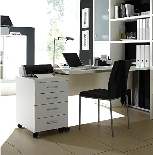 wohnwand b cherregal mit schreibtisch sideboard toleo238. Black Bedroom Furniture Sets. Home Design Ideas