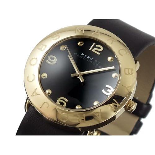 [マークバイマークジェイコブス] MARC BY MARC JACOBS 腕時計 マークバイマークジェイコブス レディス 腕時計 Amy (アミー) レディス・レザーストラップ・ウオッチ MBM1154 [並行輸入品]