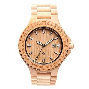 Laimer orologio da polso in legno orologi for Orologio legno amazon
