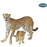Papo 50044 Animal Figurines - Cheetah and Cub