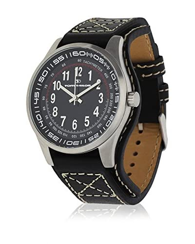 TOM TAILOR Reloj de cuarzo 5407301 Negro 44 mm
