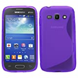 Samrick S Wave Hydro Gel Protective Case for Samsung Galaxy Ace 3 S7270/S7272 Dual-Sim/S7275 LTE 4G - Purple