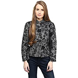 RARE Floral Print Full Sleeve Women's Jacket