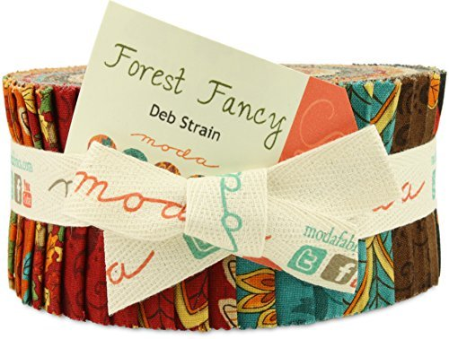 Forest Fancy Jelly Roll (19710JR) by Deb Strain for Moda (Moonlight Jelly Roll compare prices)