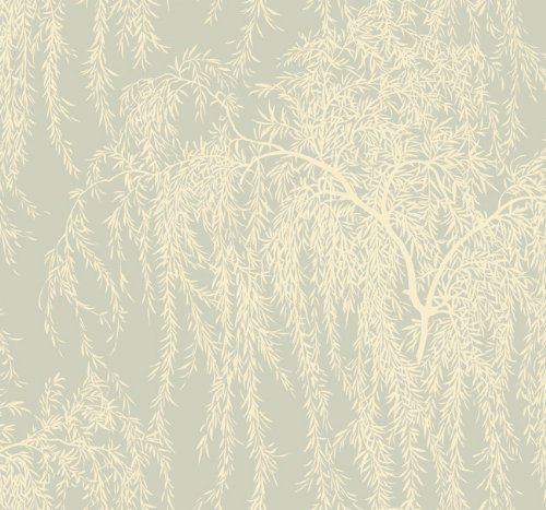 Ronald Redding Wallpaper Pm9259 Silver Leaf