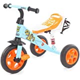 The Flyer's Bay Troopers Super Tricycle With Shock Absorbers (Blue & Orange)
