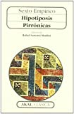 img - for Hipotiposis Pirronicas (Spanish Edition) book / textbook / text book