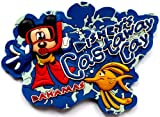Disney's Castaway Cay Bahama ~ Fridge Magnet ~ Refrigerator Magnet ~ Mickey scuba snorkel