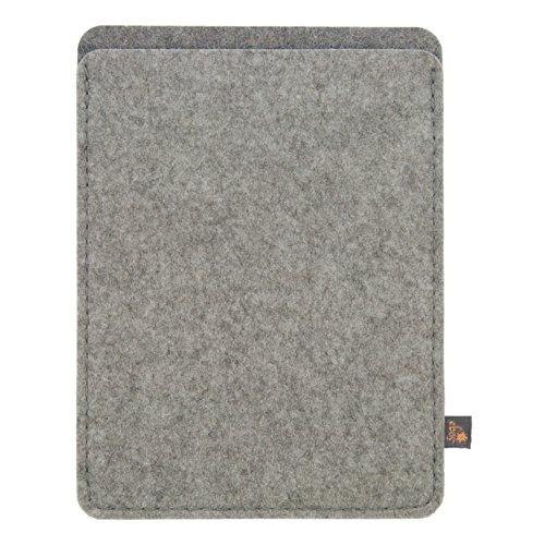 Funda para kindle ebos de fieltro gris claro para amazon kindle paperwhite paperwhite 3g - Fundas kindle amazon ...
