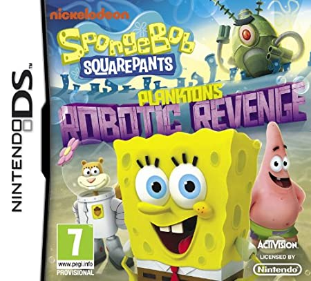 Spongebob Squarepants: Plankton's Robotic Revenge (Nintendo DS)