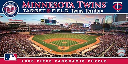 Purchase MasterPieces MLB Minnesota Twins Stadium Panoramic Jigsaw Puzzle, 1000-Piece