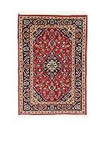 L'Eden del Tappeto Alfombra M.Kashan Rojo / Multicolor 140  x  98 cm