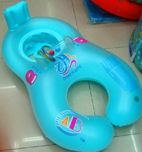 Swim Safe Baby Support Seat Swimming Aid,Infant swim ring,Blue