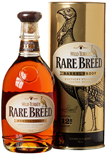 Bourbon Whiskey Wild Turkey Rare Breed barrel proof cl.70 con astuccio