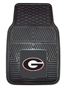Buy FANMATS NCAA University of Georgia Bulldogs Vinyl Heavy Duty Vinyl Car Mat by Fanmats
