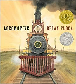 Locomotive by Brian Floca book cover