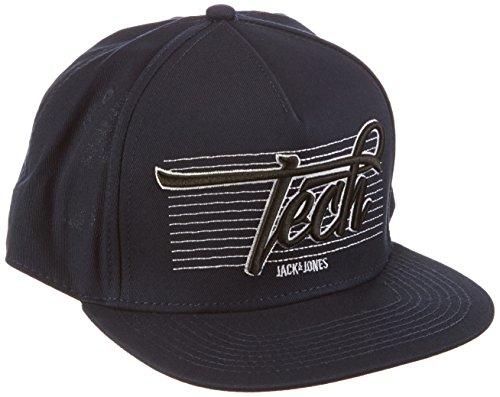 Jack & Jones Tech berretto da uomo Casual snapback, Uomo, Cap Casual Snapback, nero, Taglia unica