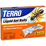 TERRO PreFilled-Liquid-Ant-Killer-II Baits 10 Count (60 Stations Total)