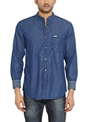 Indigo Nation Men Slim Fit Cotton CASUAL SHIRT