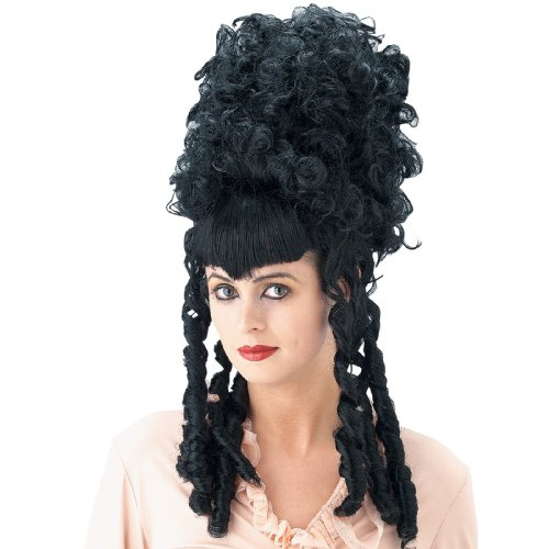 Paper Magic Group - Black Historical Wig - One Size
