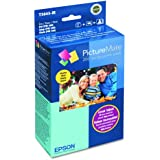Epson T5845-M PictureMate Print Pack Includes Inkjet Cartridge, 100 Sheets Matte Photo Paper