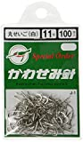 KAWASEMI(かわせみ針) J-1 100本丸セイゴ (白) 11号