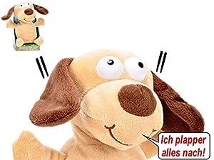 Laberhündchen - 16 cm - inkl Batterien - Chatter Dog - Laber - Hündchen