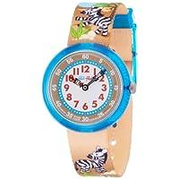 [フリック フラック]FLIK FLAK キッズ腕時計 CUTE-SIZE(キュート サイズ) ZEBRALANDIA(ゼブラランディア) ZFBNP017 ボーイズ 【正規輸入品】