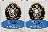 Grandpas Thylox Acne Treatment Soap 3.25 Ounces (Pack Of 2)