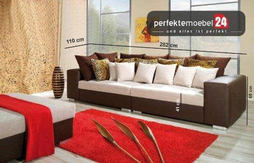 FLORENTINE Sitzsofa Sofagarnitur Wohnlandschaft Eckcouch Couch Sofa mit Ecke (elefant) kaufen