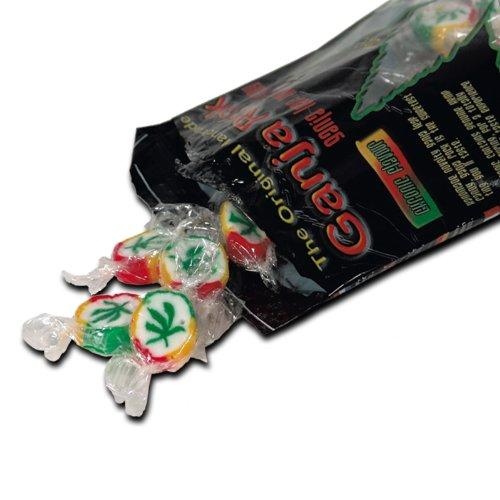 Ganja Rocks Bonbons Hanf-Geschmack 120g