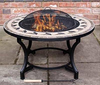 Calenta Mosaic Bbq Fire Bowl