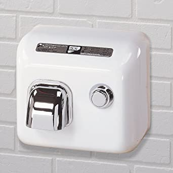 American Dryer DR35TNSS Stainless Steel Cover Automatic Hand Dryer, 208-240V, 2,300W Power, 50/60Hz