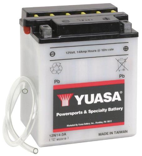 Yuasa Yuam2241B 12N14-3A Battery