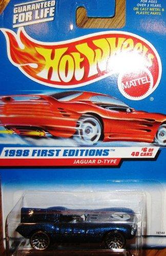Hot Wheels 1998 First Editions 6/40 Jaguar D-Type #638 Mattel